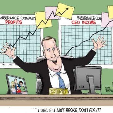 Record Insurance Company Profits